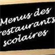 Menus des restaurants