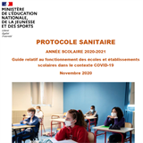 Protocole sanitaire de l'Education nationale