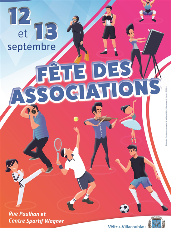 Fête des associations 12&13 sept 2020